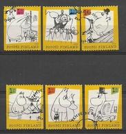 Finland 2009 Moomins Y.T. 1941/1946 (0) - Oblitérés