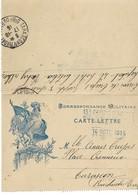 Carte Lettre Franchise Militaire Coq + 13eme Corps D Armee Hopital Temporaire - Marcophilie (Lettres)