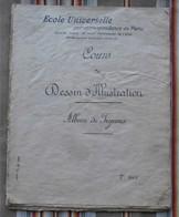 75 PARIS 16e Cours De Dessin D'Illustration Album De Figures - Basteln