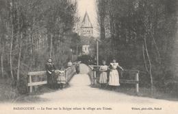 Bazancourt,le Pont Sur La Suippe Reliant Le Village Aux Usines - Bazancourt