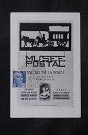 FRANCE - Carte Postale Et Oblitération Du Musée Postal En 1948 - L 33767 - 1921-1960: Période Moderne