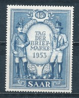 Saarland 342 ** Mi. 8,50 - Ohne Zuordnung