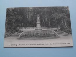 Monument De La Princesse Amélie Au Parc - Das Amaliendenkmal Im Park () Anno 1913 ( Voir Photo ) ! - Lussemburgo - Città