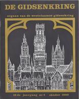1980/4 DE WESTVLAAMSE GIDSENKRING RODENBACH TIELRODE STATION BRUGGE - Histoire