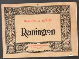 Paris Bd Des Caoucines: Catalogue Illustré REMNGTON (machines à écrire) (PPP11097) - Publicités