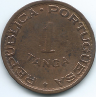 India - Portuguese - 1947 - 1 Tanga - KM24 - India