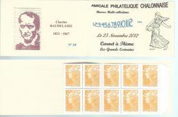 Carnet Privé A.P.C. Chalon Sur Saône - Bourse D'échange - Booklets