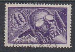 Switzerland 1923 Flugpost 40c Used (43318C) - Luchtpostzegels