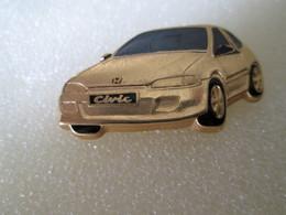 PIN'S   HONDA  CIVIC  Finition Or - Honda