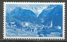 Switzerland,Poster Stamp-Soglio,MNH - Sin Clasificación