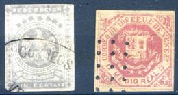 Venezuela, N°9 Oblitéré, Cote 400€ - (+ N°16 C.5€) - (F083D) - Venezuela