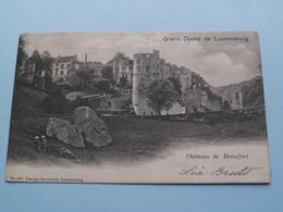 Château De Beaufort ( N° 194 - Charles Bernhoeft ) Anno 1903 ( Voir Photo ) ! - Lussemburgo - Città