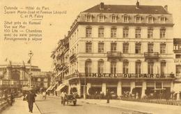 OSTENDE --  Hôtel Du Parc  - Square Marie-José Et Avenue Léopold  ( C. Et M. Fabry ) - Oostende