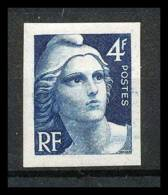 France N°725 Marianne De Gandon Non Dentelé * MH (Imperforate) - France