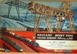 CATALOGUE VINTAGE DINKY TOYS MECCANO TRAINS HORNBY-1962 - Publicités
