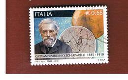 ITALIA REPUBBLICA  -  2010  V. SCHIAPARELLI   - USATO ° - 6. 1946-.. Repubblica