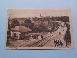 Entrée De La Ville ( Th. Wirol ) Anno 19?? ( Voir Photo ) ! - Lussemburgo - Città