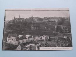 Von Den Drei Eicheln Aus Gesehen ( 4 ) Anno 1906 ( Voir Photo ) ! - Lussemburgo - Città