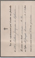Carton Invitation à Funérailles/CANADA/ Monsieur Arthur JACQUES/Eglise St Joseph/BEAUCE/Vers 1940-45   FPD118 - Décès