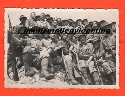 Plotone Alpini Foto Di Posa - War, Military