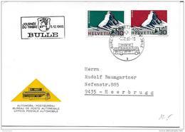 """49 - 89 - Carte Avec Rare Oblit Spéciale """"Journée Du Timbre 1965 Bulle"""" - Storia Postale"""