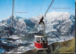 FUNIVIA MOGGIO-ARTAVAGGIO - SCRITTA AL RETRO E DATATA 1966 - Cartoline