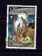 Uganda 1835 Used 2003 Christmas - Uganda (1962-...)