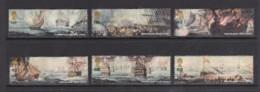 Great Britain 2005 Battle Of Trafalgar Set Of 6 Used - 1952-.... (Elizabeth II)