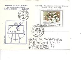 Roumanie ( Lettre De 1979 De Bucarest Vers L'Allemagne à Voir) - 1948-.... Républiques