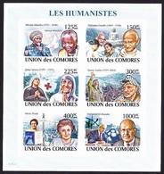 Red Cross / Croix Rouge - Les Humanistes / Comores, 2008 - Célébrités