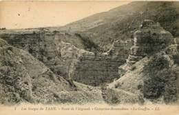 LOZERE GORGES DU TARN ROUTE DE L'AIGOUAL CAMPRIEU BRAMADIAU LE GOUFFRE(scan Recto-verso) KEVREN0562 - Gorges Du Tarn