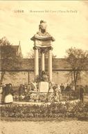 LIÉGE  --  Monument Del Cour ( Place St.-Paul ) - Liege