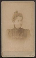 Old Photo (10,5cmx6,3cm) Old Photograph Of Woman - F. Gomes Marques - Braga - Photographia Nacional - Fotografia Mulher - Photos