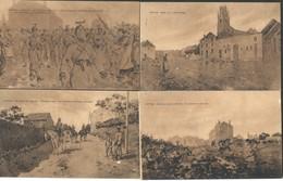 11 CPA VIRTON Baitaille D' Août 1914 - Virton