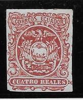 Equateur N°4 - Neuf * Avec Charnière - TB - Equateur