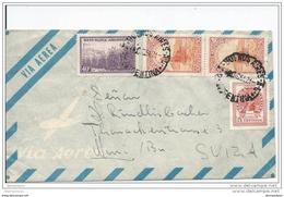 29-98 - Enveloppe Avion Envoyée De Buenos Aires En Suisse 1951 - Argentinien