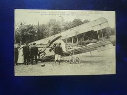 28 JUILLET 1912 LECTOURE AERODROME DE FOISSIN LE BIPLAN DE L'AVIATEUR LUCIEN DEMAZEL ETAT BON - Lectoure