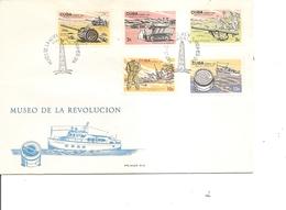 Cuba ( FDC De 1965 Avec BF à Voir) - FDC