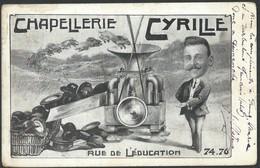 CPA Chapellerie Cyrille Rue De L'éducation 74,76 (Ganshoren) - Ganshoren