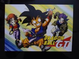 DRAGON BALL Carte Postale - Comics
