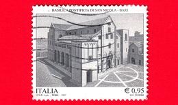 ITALIA - Usato - 2017 - Basilica Pontificia Di S.Nicola, Bari - 0.95 - 6. 1946-.. República