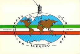 Carte QSL  CB StationInternational Alfa Lima De Legnano En Italie - CB