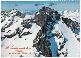 Le Massif De La Meije - Les Alpes Du Dauphine - Frankrijk