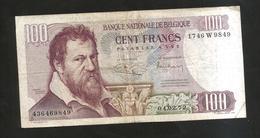 BELGIQUE / BELGIO - 100 FRANK / FRANCS - Lombard - [ 2] 1831-... : Belgian Kingdom