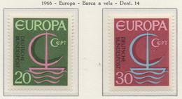 PIA  - GERMANIA  - 1966  : Euroopa -  (Yv  376-77) - Europa-CEPT