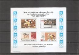 Cyclisme ( Commémoratif Officiel D'Allemagne à Voir) - Ciclismo