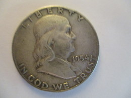 USA Half Dollar 1954 D - Bondsuitgaven