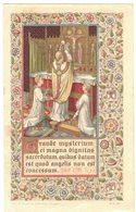 TROYES CHANOINE RAVERDEAU CHROMO GRANDE MYSTERIUM ET MAGNA DIGNITAS IMAGE PIEUSE HOLY CARD SANTINI HEILIG PRENTJE - Images Religieuses