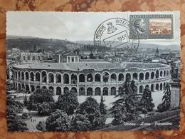 REPUBBLICA - Cartolina Maximum Giornate Mediche Verona + Spese Postali - 6. 1946-.. Repubblica