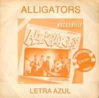 Alligator 45t Blue Letter + Mary Loou (1981 Spain) VG VG++ - Rock